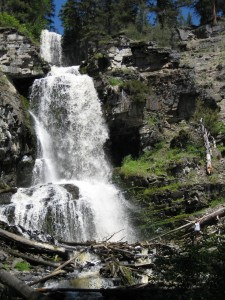 Waterfall in Marion, MT