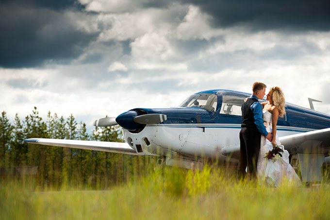 Destination Wedding Location in Marion, Montana